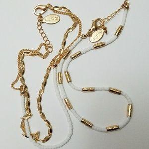 Aldo Ankle Bracelets